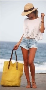 shorts+top+sombrero